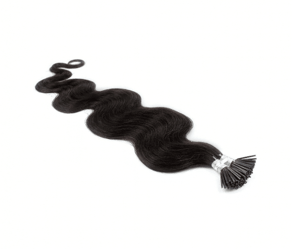 body wave i-tip hair extensions