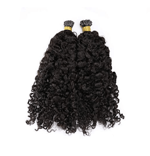 deep curly micro link hair extensions